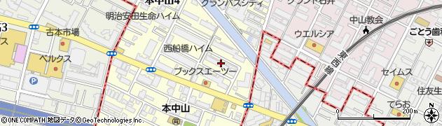 日本勤労者住宅協会船橋小栗原住宅周辺の地図