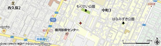 武蔵野コーポラス周辺の地図