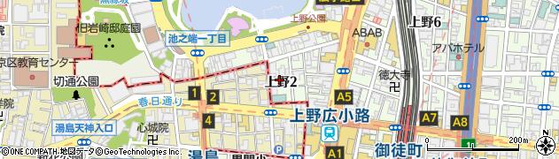 BARCHANCE周辺の地図