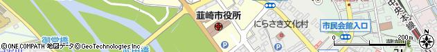 山梨県韮崎市周辺の地図