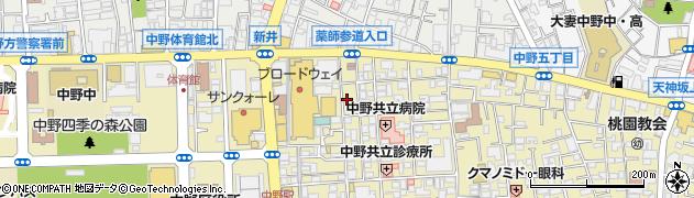 Minato周辺の地図