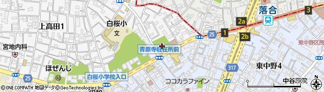 正見寺周辺の地図