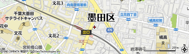 ほっともっと小村井駅前店周辺の地図