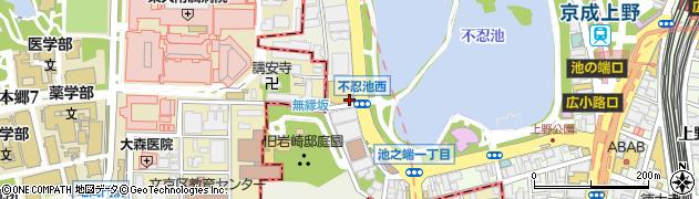 株式会社東天紅 上野店事務管理室周辺の地図