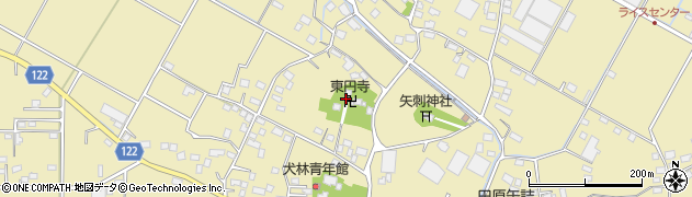 東円寺周辺の地図