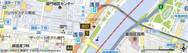 アジアン食堂周辺の地図