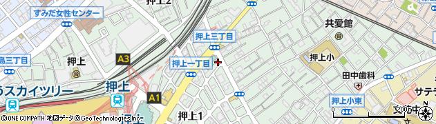 庵甫周辺の地図