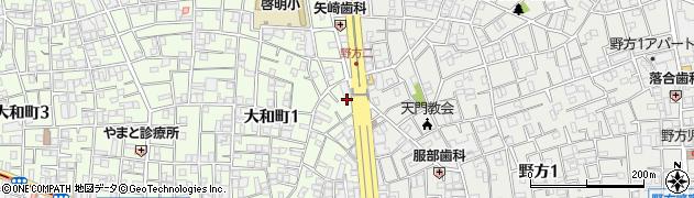ラジャヴェッタ 中野店周辺の地図