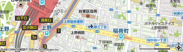 徳雲院周辺の地図