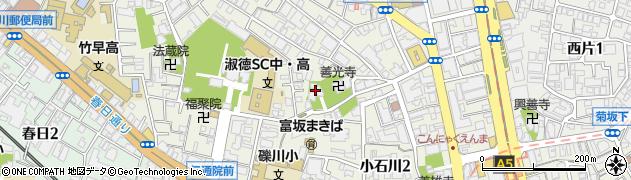 慈眼院周辺の地図