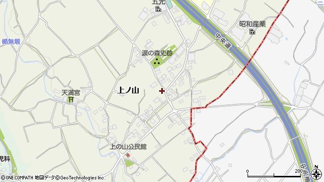 〒407-0011 山梨県韮崎市上ノ山の地図