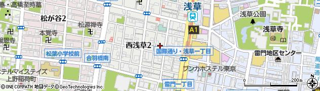 アイリス周辺の地図