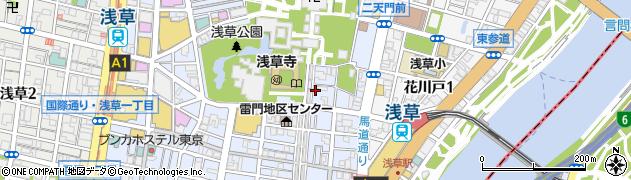 浅草・今半別館周辺の地図