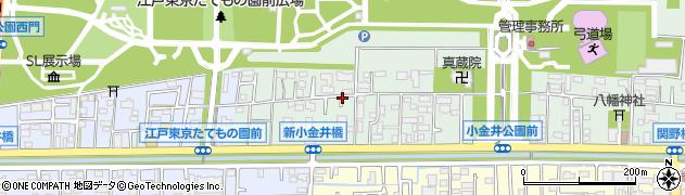 東京都小金井市関野町2丁目周辺の地図