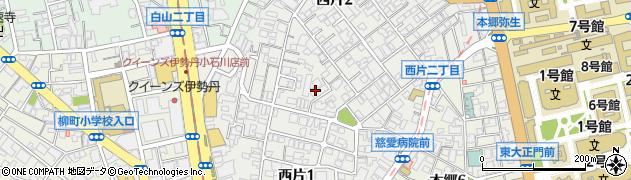 日本銀行誠之寮周辺の地図