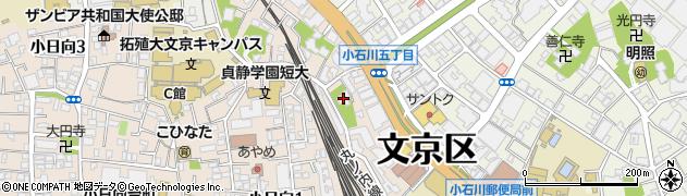 伝明寺周辺の地図
