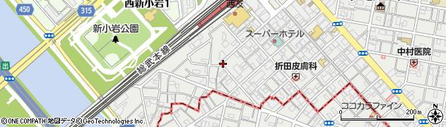 スナックRYO周辺の地図