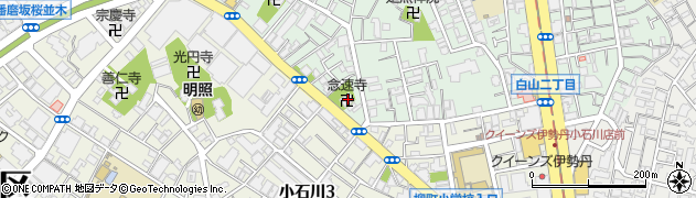 念速寺周辺の地図
