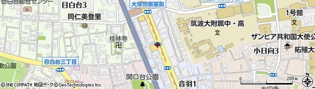 東京都文京区音羽周辺の地図
