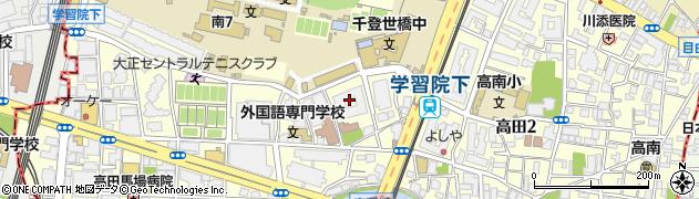 目白プレイスレジデンス周辺の地図