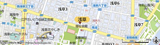 いいおか食処・酒処周辺の地図