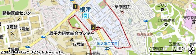 東京屋周辺の地図