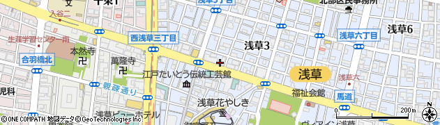 たい焼写楽周辺の地図