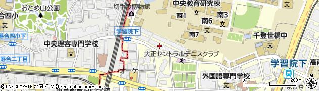 目白ガーデンヒルズ周辺の地図