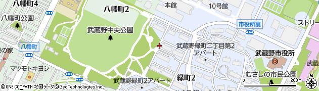 都営武蔵野アパート周辺の地図