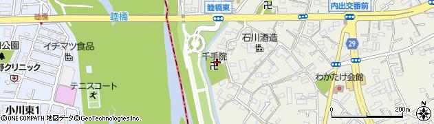 千手院周辺の地図