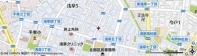 NOAKE 浅草店周辺の地図