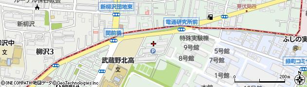 富士重工社宅周辺の地図