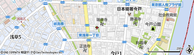 熱田神社周辺の地図