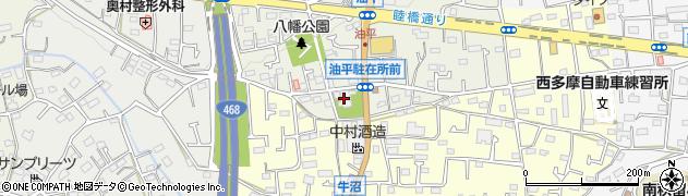 福徳禅寺周辺の地図