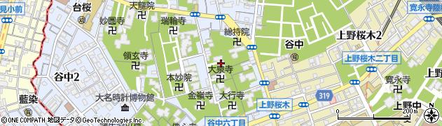 長久院周辺の地図