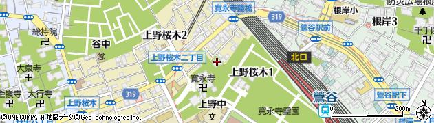 津梁院周辺の地図