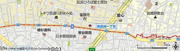 目白ビル周辺の地図