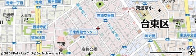パピヨン周辺の地図