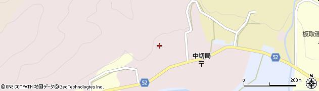 岐阜県関市中切周辺の地図
