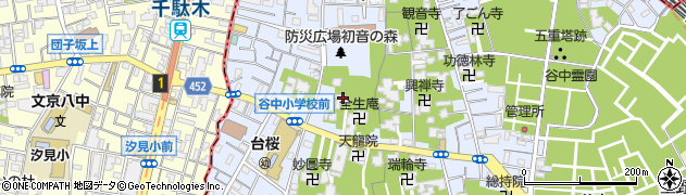 福相寺周辺の地図