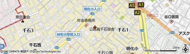 徳川マンション周辺の地図