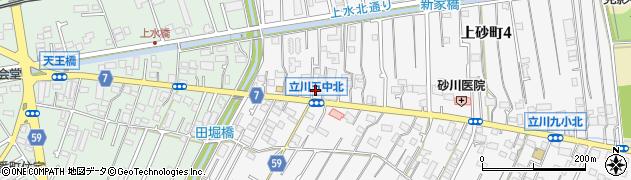 長栄寺周辺の地図