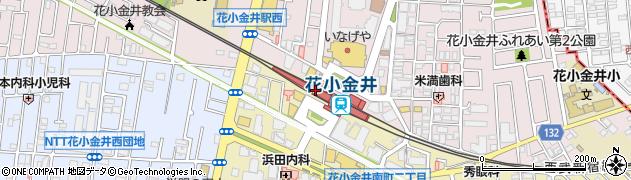 東京都小平市周辺の地図