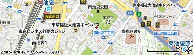仙行寺周辺の地図