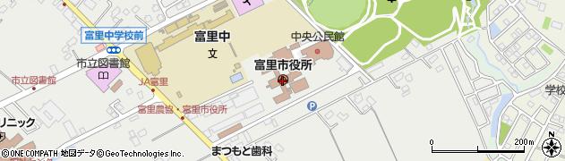 千葉県富里市周辺の地図