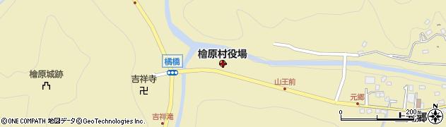 東京都西多摩郡檜原村周辺の地図