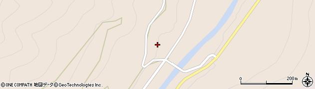 岐阜県関市田口周辺の地図