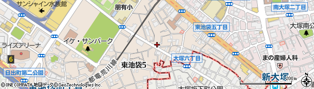 株式会社BM都市設計周辺の地図