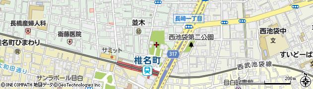 長崎神社周辺の地図