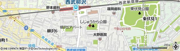 都営柳沢一丁目アパート周辺の地図